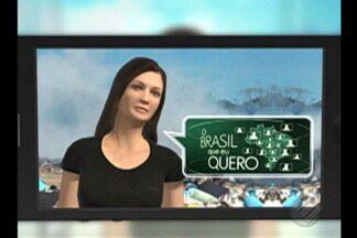 Que Brasil você quer para o futuro? Saiba como enviar o seu vídeo - Veja como é fácil enviar o seu vídeo.