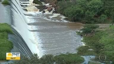 Chuva anima agricultores do interior de Pernambuco - Eles estão com a esperança de boa colheita e ainda contam com barragens cheias