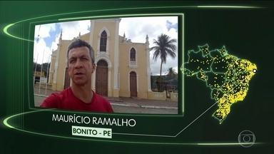 Vídeos de Bonito, Sapucaia, Porto Alegre do PI, Quatro Pontes, Riachuelo e B. Camboriú - Moradores de Bonito (PE), Sapucaia (PA), Porto Alegre do Piauí (PI), Quatro Pontes (PR), Riachuelo (SE) e Balneário Camboriú (SC) dizem o que querem para o futuro.