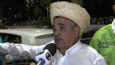 Pai de Zezé di Camargo e Luciano, seu Francisco é internado em hospital de Goiânia - Ele precisa passar por cirurgia no intestino.