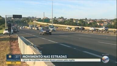 Saída para o feriado movimenta rodovias e a rodoviária de Campinas - Na rodoviária serão colocados ônibus extras.