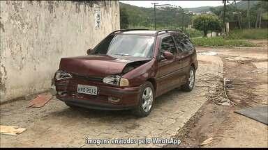 Criança de 4 anos morre após ligar carro do pai e bater em muro na Paraíba, diz família - Acidente aconteceu em Guarabira. Criança morreu no Hospital de Trauma de João Pessoa com hemorragia interna.