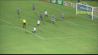Botafogo-PB perde para o Bahia na abertura das quartas de final da Copa do Nordeste - Belo até joga de igual para igual, mas acaba derrotado em casa por 2 a 1