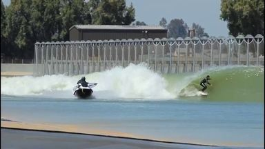 Ian Gouveia pega esquerda perfeita na pisciana de ondas de Slater - Ian Gouveia pega esquerda perfeita na pisciana de ondas de Slater