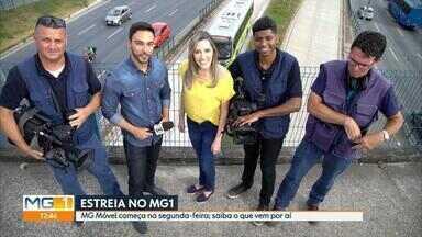MG Móvel vai dar voz a comunidades no MG1 a partir de segunda-feira - No novo quadro, os repórteres Cláudia Mourão e Vladimir Vilaça vão acompanhar problemas e sugestões de moradores.