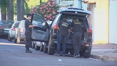 PF prende vereador e mais quatro pessoas suspeitos de tráfico de drogas em Sertãozinho, SP - Samuel Sandrin (PR) foi preso na Operação Cartão Vermelho.
