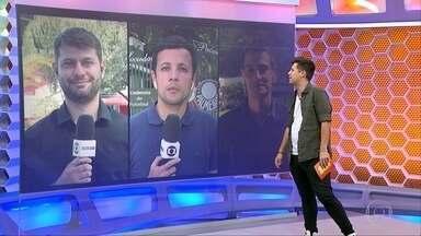 Giro de repórteres pelos clubes paulistas - Giro de repórteres pelos clubes paulistas