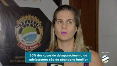 Adolescente desaparecida volta para casa em Campo Grande - Ela ficou desaparecida por 11 dias e foi encontrada quinta-feira (26) após mandar mensagem para mãe.