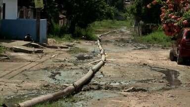 Obra de drenagem começará no sábado em Rio Largo, diz secretário de infraestrutura - Um equipamento será instalado para fazer melhor retirada da água.