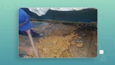 Túnel de 2 metros e arma de fogo são encontrados em cela de presídio, em Manaus - Escavação e materiais ilícitos foram achados no regime fechado do Compaj, situado na BR-174.