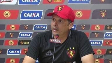 Claudinei Oliveira prepara Sport para enfrentar Paraná em sua estreia - Claudinei Oliveira prepara Sport para enfrentar Paraná em sua estreia