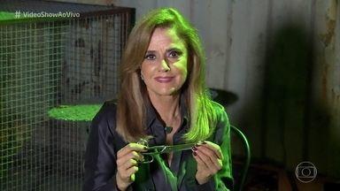'Vídeo Show' flagra Sophia com a tesoura na mão - Vilã de 'O Outro Lado do Paraíso' finalmente é desmascarada na novela das nove