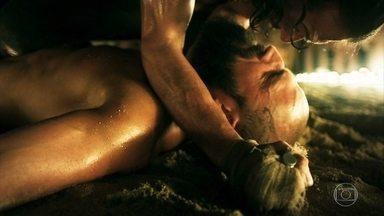 Afonso poupa a vida de Constantino durante luta na Pedreira de Angór - Cássio garante que Afonso não é um assassino