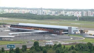 Pesquisa mostra o que capixabas estão pensando sobre o novo Aeroporto de Vitória - Aeroporto foi inaugurado há pouco mais de um mês.