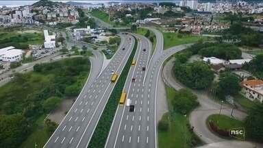 Dnit anuncia construção de terceira pista da Via Expressa na Grande Florianópolis - Dnit anuncia construção de terceira pista da Via Expressa na Grande Florianópolis