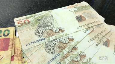 PM prende homem com quase R%5 mil em notas falsas - A situação foi em Foz do Iguaçu.