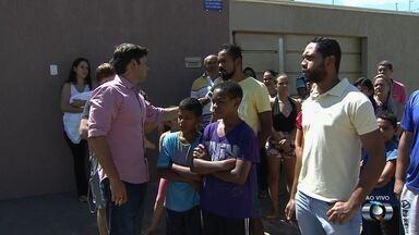 Moradores pedem reforço na segurança do Parque Hayala, em Goiânia - Eles relatam que assaltos são cada vez mais frequentes no local.