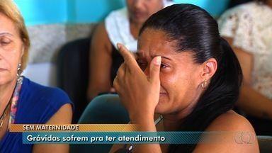 Grávidas reclamam de demora no atendimento da Maternidade Dona Iris, em Goiânia - Apesar do dia tranquilo, espera chegava a 2h.