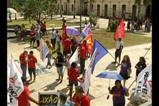 Em Belém, Dia dos Trabalhadores é marcado por atos contra a reforma trabalhista - Os protestos foram em vários pontos da cidade e pediam também mais segurança no estado.