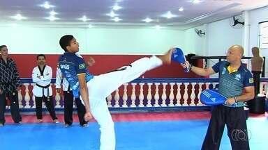 Goianos se preparam para competição de taekwondo no Marrocos - Três goianos estão classificados para a gymnasiade.