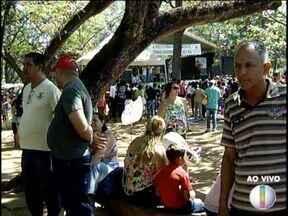 Festa do Trabalhador reúne população no Parque Municipal de Montes Claros - Muitas famílias estiveram no local aproveitando as ações diversas.