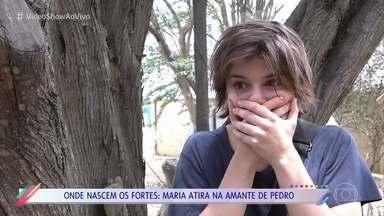 Alice Wegmann fala sobre cena em que atira na amante de Pedro - Atriz conta reação que teve após a gravação na cena fortíssima de 'Onde Nascem os Fortes'