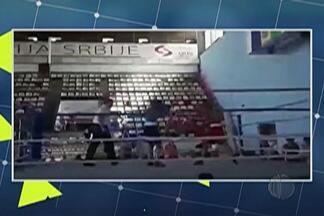 Pugilista mogiana termina campeonato na Sérvia - Junto com a seleção brasileira de boxe, Graziele de Jesus volta para o Brasil com a medalha de bronze.