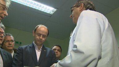 Ministro da Educação visita hospital universitário em Manaus - Rossiele Soares esteve na segunda-feira (30) na capital do Amazonas.