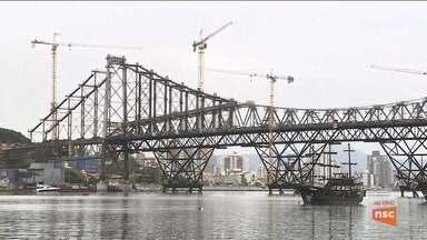 Governo anuncia que entrega da Ponte Hercílio Luz será novamente adiada - Governo anuncia que entrega da Ponte Hercílio Luz será novamente adiada