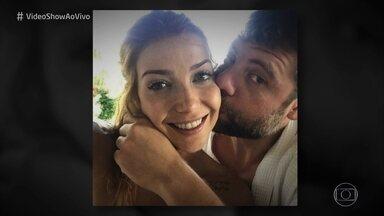 Luiza Possi revela que é pedida em casamento todos os dias - Cantora se derrete ao falar do marido e abre o jogo para as lentes do 'Vídeo Show'