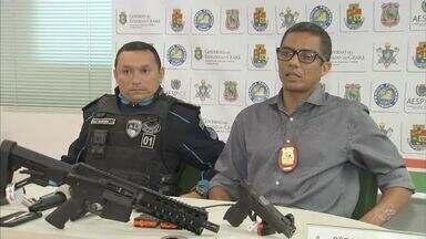 Polícia prende bando com armas e distintivos autênticos da PM - Confira mais notícias em g1.globo.com/ce