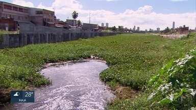 Moradores de Olinda denunciam que obra do Canal do Fragoso está parada - Governo de Pernambuco nega paralisação da obra.