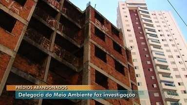 Delegacia do Meio Ambiente apura perigo que imóveis abandonados representam em Goiânia - Polícia Civil quer saber se prédios inacabados precisam ser demolidos e quais providências devem ser tomadas.