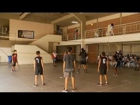 Estudantes se preparam para os Jogos Estudantis de Minas Gerais - JEMG começa no dia 21 de maio.