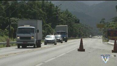 Mogi-Bertioga é liberada, mas segue com obras - Rodovia continua com trabalhos para acabar de vez com qualquer perigo para os motoristas.