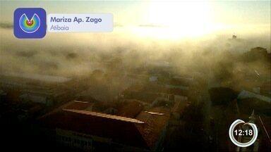 Nevoeiro atinge Atibaia - Fenômeno é normal nas manhãs de outono.
