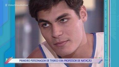 Thiago Lacerda relembra trabalho em 'Malhação' - Ator participou da temporada de 1997 como o professor de natação Lula
