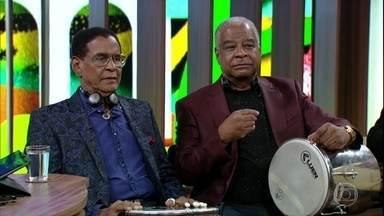 Ubirany e Bira Presidente relembram participação de Almir Guineto no Fundo de Quintal - Músicos também falam do Originais do Samba, que tinha em Mussum em sua formação