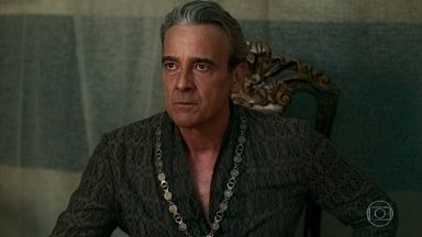 Otávio teme retorno de Afonso - O Rei pensa em uma forma de não ficar em desvantagem, mesmo com exército menor do que o de Montemor