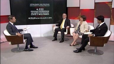 Especialistas debatem lei que tira crimes de PMs da justiça comum