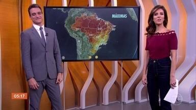 Meteorologia prevê temporais no Rio Grande do Sul - No Nordeste, a previsão é de mais chuva forte nesta quinta-feira.