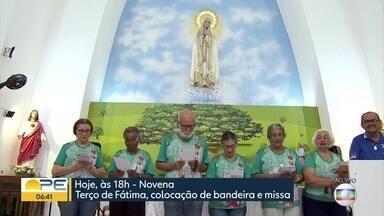 Católicos dão início à novena e comemoração da festa de Nossa Senhora de Fátima, no Recife - O primeiro santuário construído em todo o mundo em devoçãoa à à aparição de Fátima fica no bairro da Boa Vista, na área central do Recife.