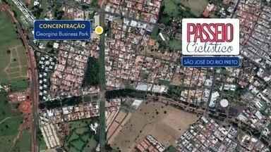 Passeio Ciclístico 2018: Rio Preto recebe edição do evento da TV TEM - Daqui dez dias tem o 'Passeio Ciclístico' organizado pela TV TEM. Vai ser no dia 20. A concentração vai ser no Georgina Business Park às 8h30, em São José do Rio Preto (SP).
