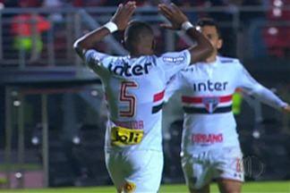 São Paulo joga pela Sul Americana - Time não decepcionou torcedores.