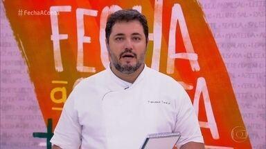 Jurados avaliam as pizzas dos semifinalistas - Confira as notas dos chefs para Rúbia, Tiago e Patrick