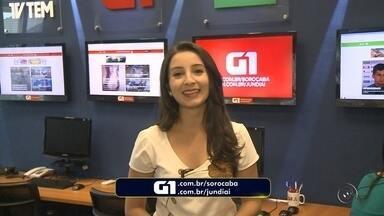 Mayara Corrêa traz os destaques do G1 Sorocaba e Jundiaí nesta quinta-feira - Confira os destaques do G1 Sorocaba e Jundiaí nesta quinta-feira (10) com Mayara Corrêa.