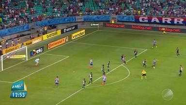 GE traz os destaques do jogo entre Bahia e Vasco no Brasileirão - Veja na interação do esporte no BMD.