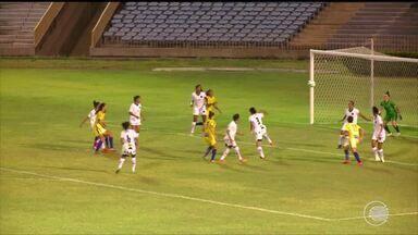 Tiradentes atropela o Botafogo-PB e garante primeira vitória na Série A2 - Tiradentes atropela o Botafogo-PB e garante primeira vitória na Série A2