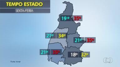 Confira o tempo em várias regiões do estado - Confira o tempo em várias regiões do estado