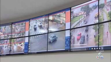 Central de videomonitoramento de trânsito da CTMac já está funcionando - Câmeras foram instaladas para a vigilância eletrônica na capital.